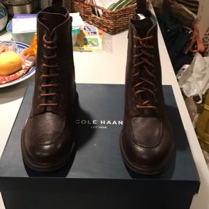 Cole Haan waterproof fashion boots size 8